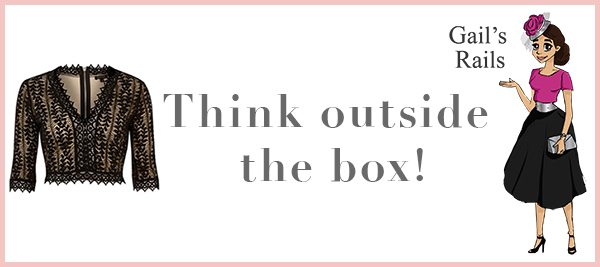 Think outside the box - Gails Rails | River Island