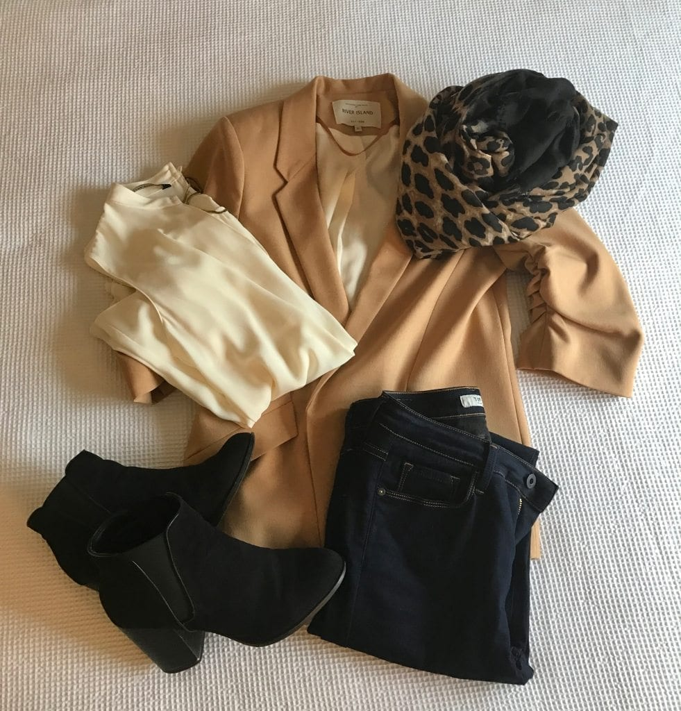 packing for a weekend city break in spring