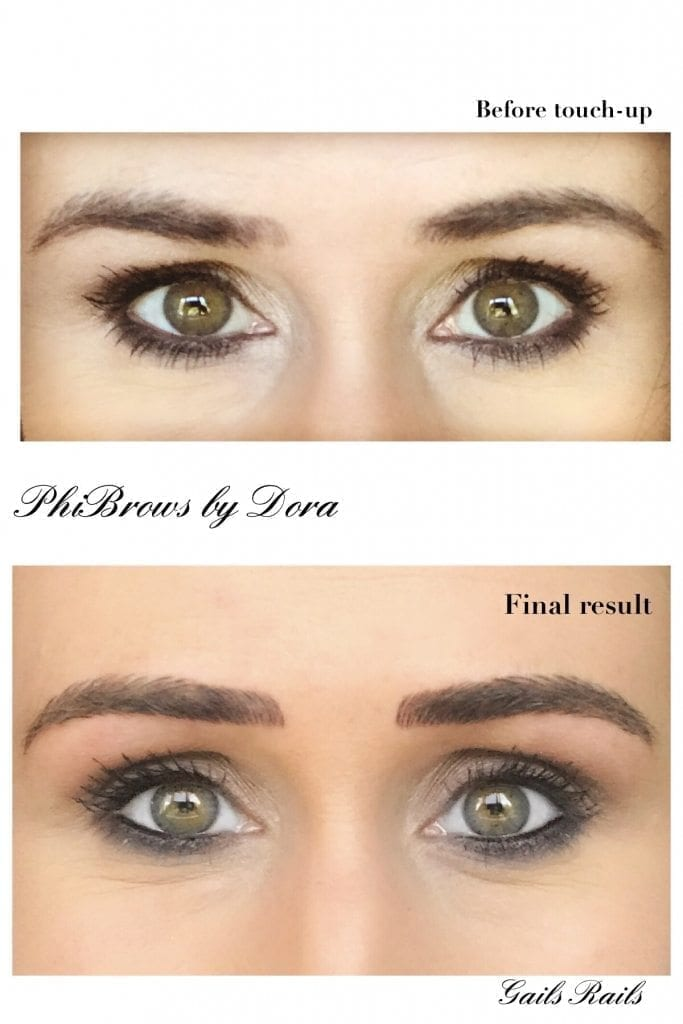 My New Phibrow Eyebrows Gails Rails