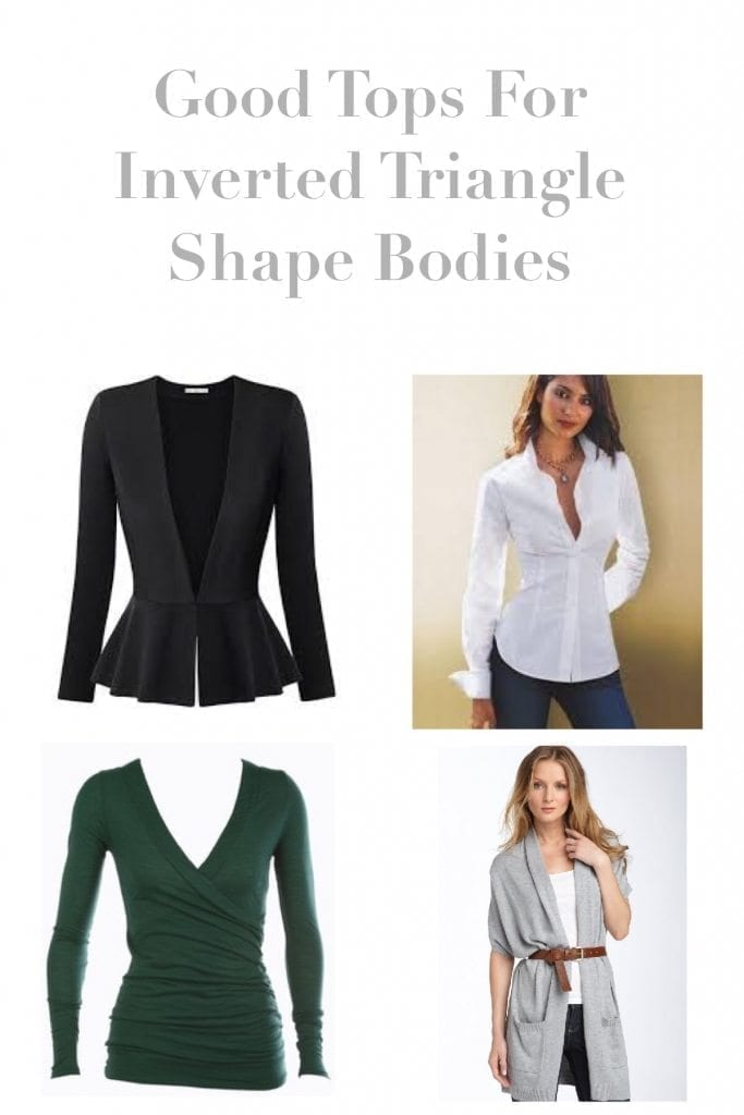 How To Dress An Inverted Triangle Shape Body - Gails Rails