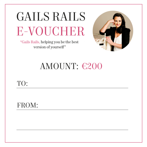 Gails Rails €200 E-Voucher